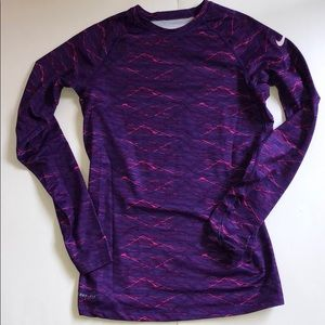 NIKE Pro Combat Fitted Running Long Sleeve